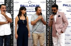 Mezarcı Filmi Oyuncuları Palladium Antakya'da…